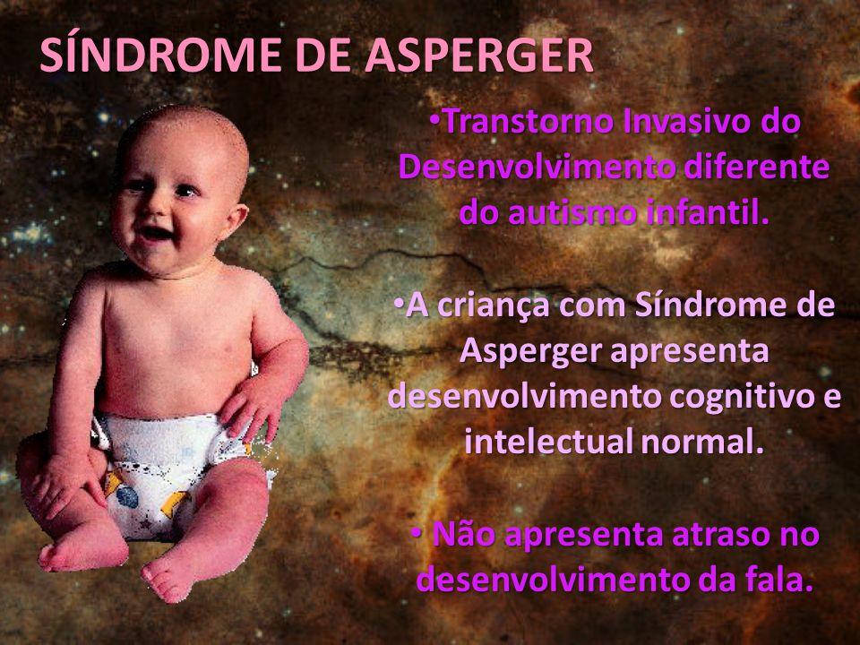 Transtorno Invasivo do Desenvolvimento diferente do autismo infantil. Transtorno Invasivo do Desenvolvimento diferente do autismo infantil. A criança