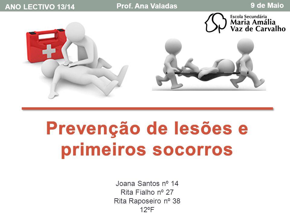 Introdução No âmbito da disciplina de educação física foi-nos proposta a realização deste trabalho, sobre a prevenção de lesões e primeiros socorros.