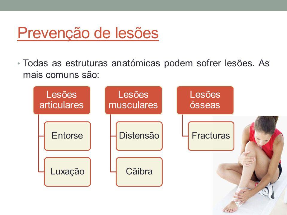 Lesões articulares Entorse o Rotura ou torsão dos ligamentos.