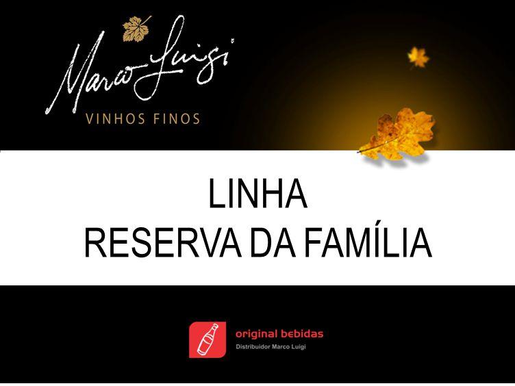 Cabernet Sauvignon Reserva da Família Elaborado com uvas Cabernet Sauvignon, com nível de maturação excepcional, cultivadas especialmente para elaboração deste vinho.