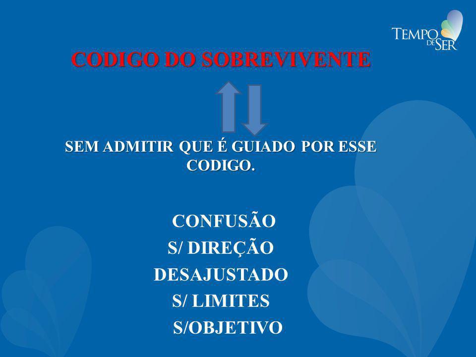 CODIGO DO SOBREVIVENTE SEM ADMITIR QUE É GUIADO POR ESSE CODIGO.