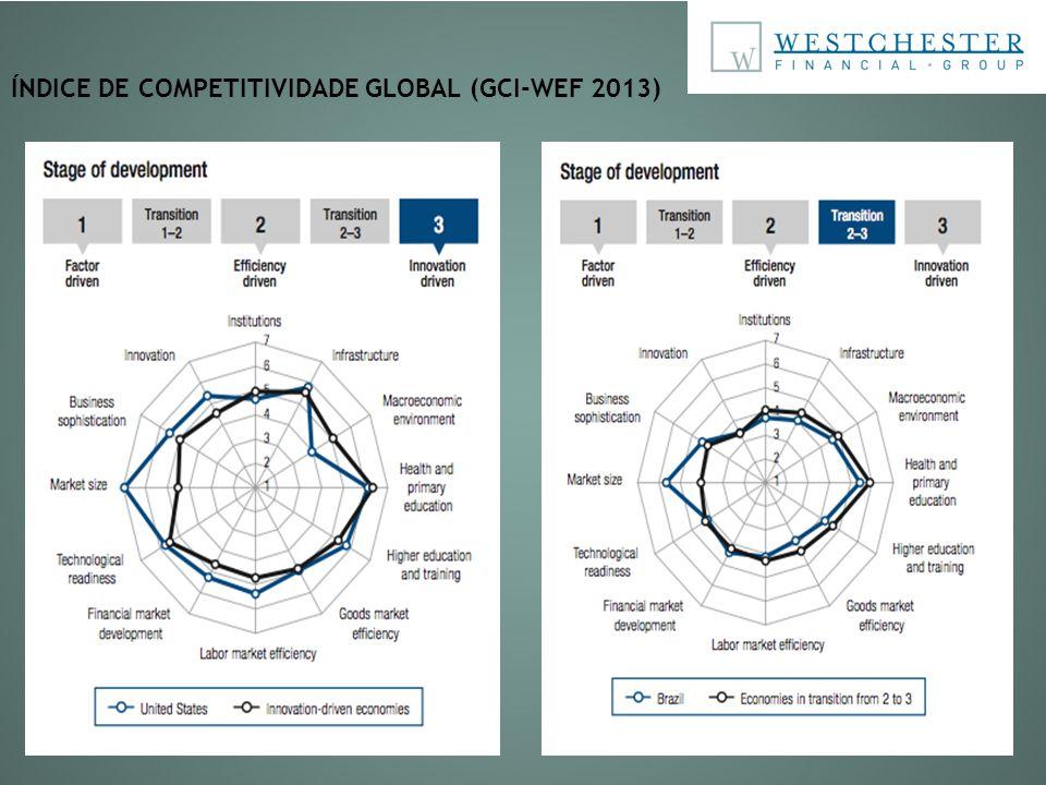 ÍNDICE DE COMPETITIVIDADE GLOBAL (GCI-WEF 2013)
