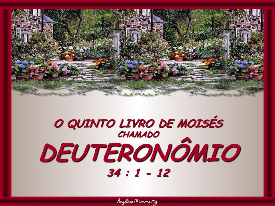 O QUINTO LIVRO DE MOISÉS CHAMADO DEUTERONÔMIO 34 : 1 - 12