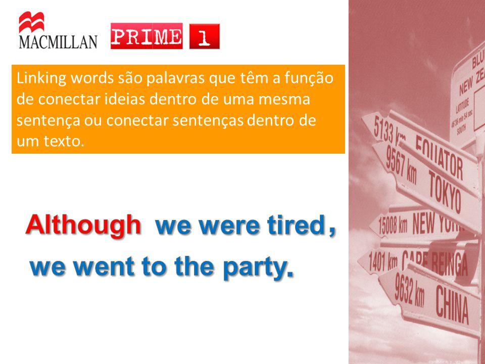 Modificar substantivos Palavras terminadas em –ing podem ter várias funções: