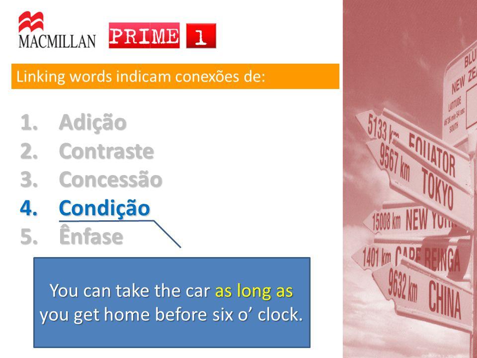 Ser o acompanhante do verbo Palavras terminadas em –ing podem ter várias funções: