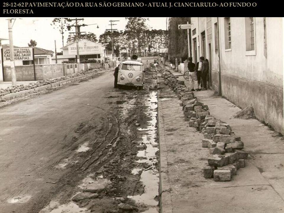 12-12-62 RUA VICTOR MEIRELES -PRESIDENTE ALTINO - TERRAPLANAGEM - OBRAS