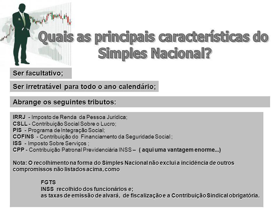 O acesso se dá no site da Receita Federal do Brasil – RFB - Portal do Simples Nacional, menu Simples – Serviços .
