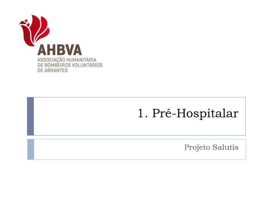 1. Pré-Hospitalar Projeto Salutis
