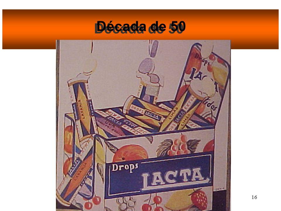 15 Década de 50