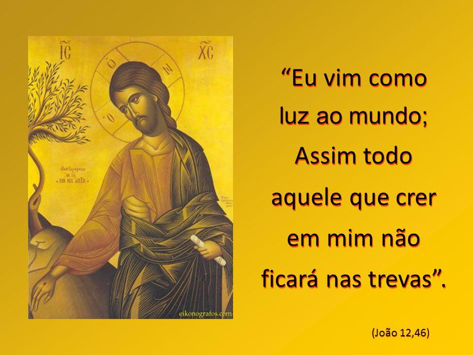 """""""Vós me chamais Mestre e Senhor e dizeis bem porque Eu o sou"""". (João 13,13)"""