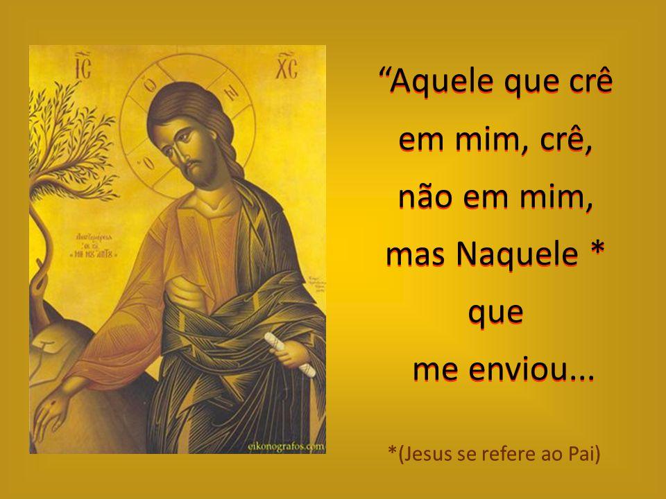 """""""Eu vim como luz ao mundo; Assim todo aquele que crer em mim não ficará nas trevas"""". (João 12,46)"""