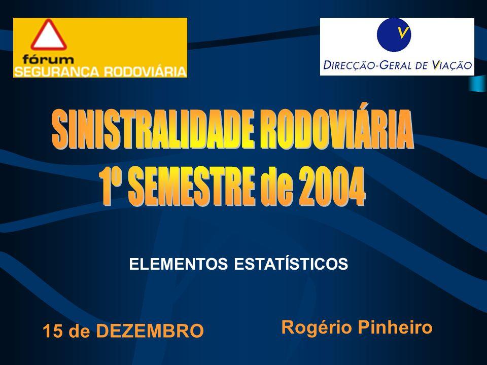 ELEMENTOS ESTATÍSTICOS Rogério Pinheiro 15 de DEZEMBRO
