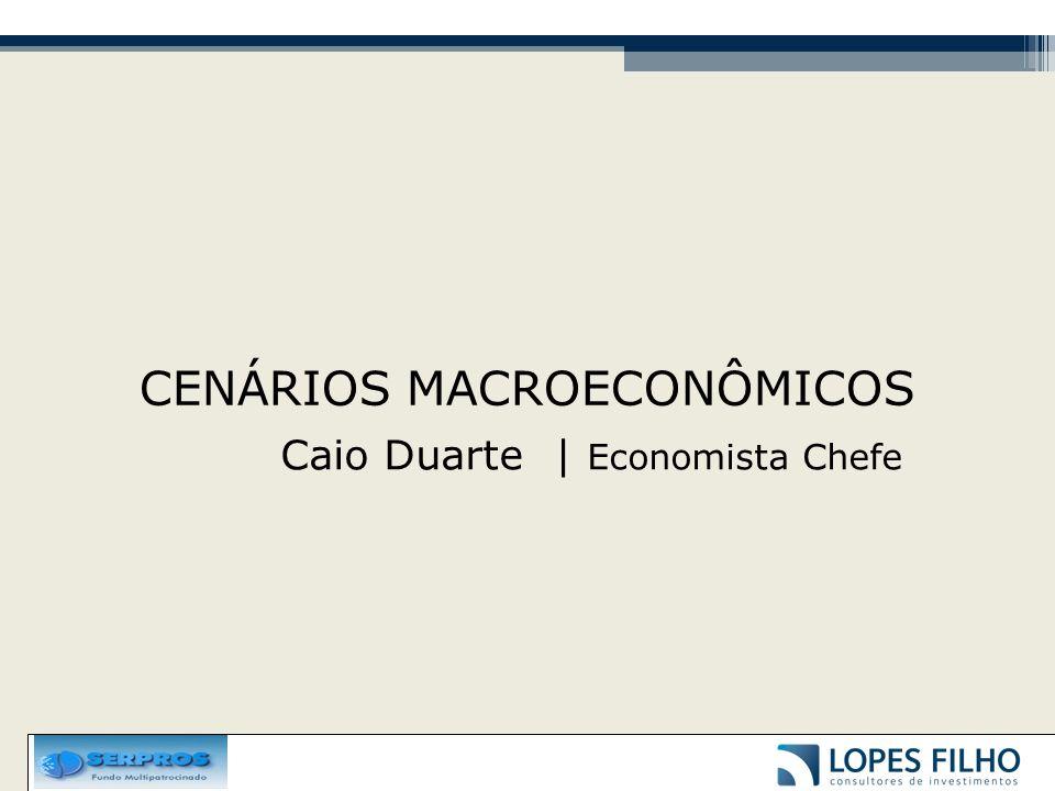 CENÁRIOS MACROECONÔMICOS Caio Duarte | Economista Chefe