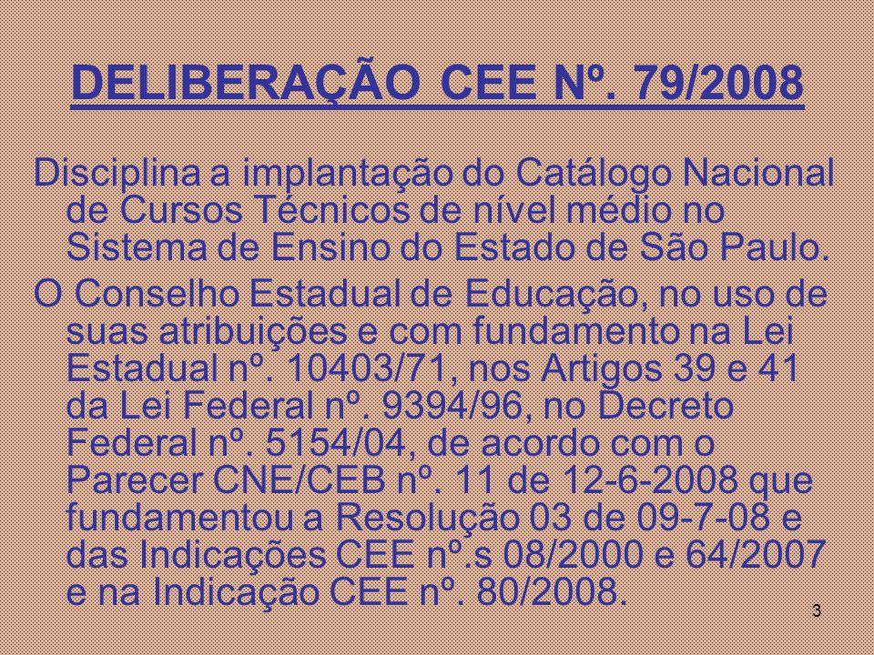 3 DELIBERAÇÃO CEE Nº.