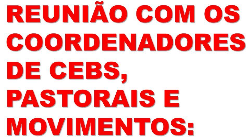 16/08: CRISMA: DOM JOÃO MAMED
