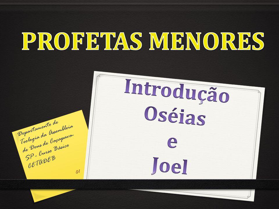 Departamento de Teologia da Assembleia de Deus de Caçapava- SP - Curso Básico CETADEB 01