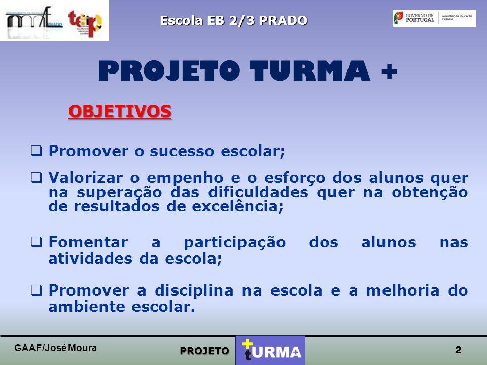 1 AGRUPAMENTO DE ESCOLAS DE PRADO ESCOLA EB 2/3 PRADO