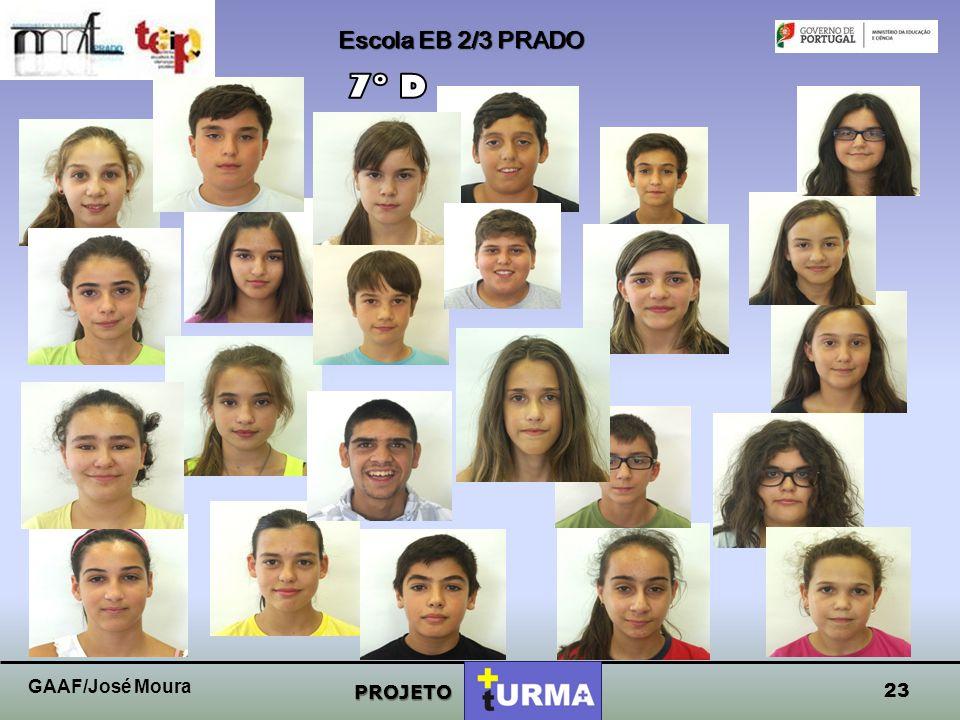 Escola EB 2/3 PRADO PROJETO 22 GAAF/José Moura