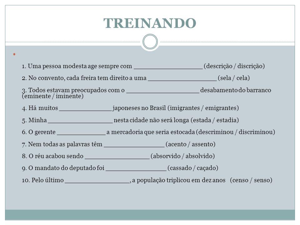 TREINANDO 11.