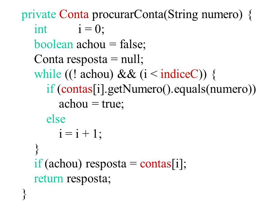 public void cadastrarConta(Conta c) { contas[indiceC] = c; indiceC = indiceC + 1; } public void cadastrarPoupanca(PoupancaD p) { poupancas[indiceP] = p; indiceP = indiceP + 1; }