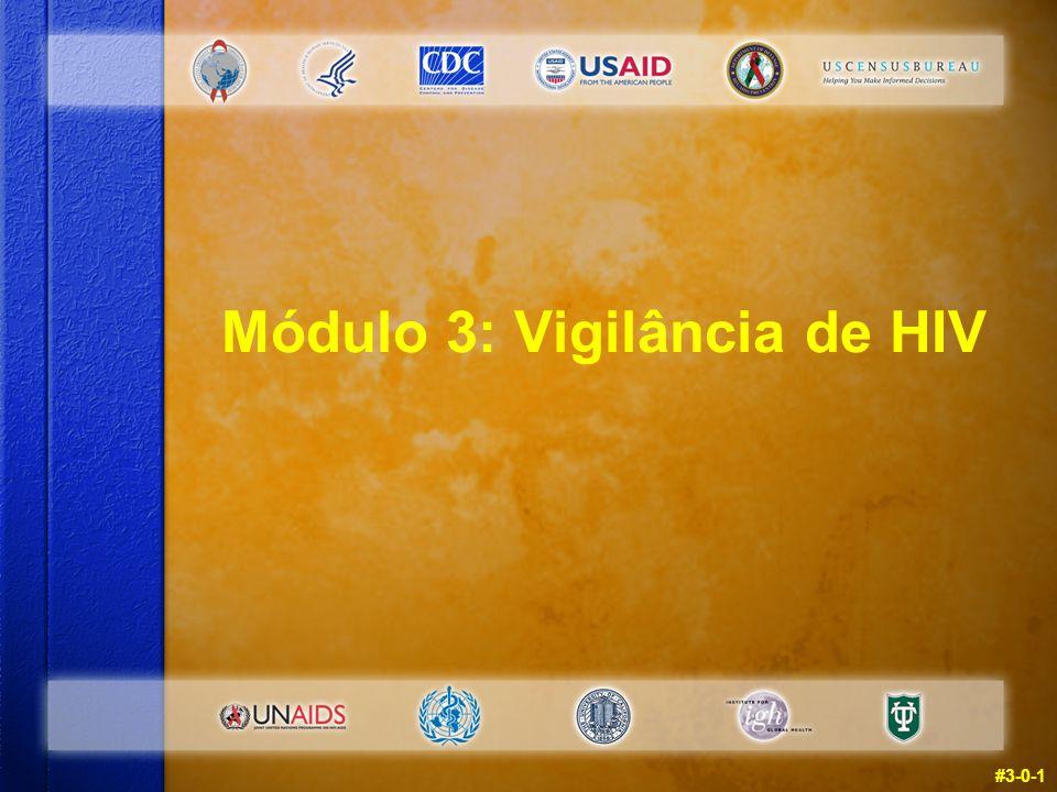 Módulo 3: Vigilância de HIV #3-0-1