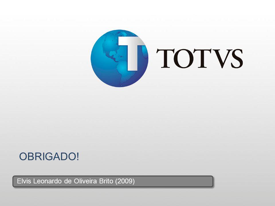 19 OBRIGADO! Elvis Leonardo de Oliveira Brito (2009)