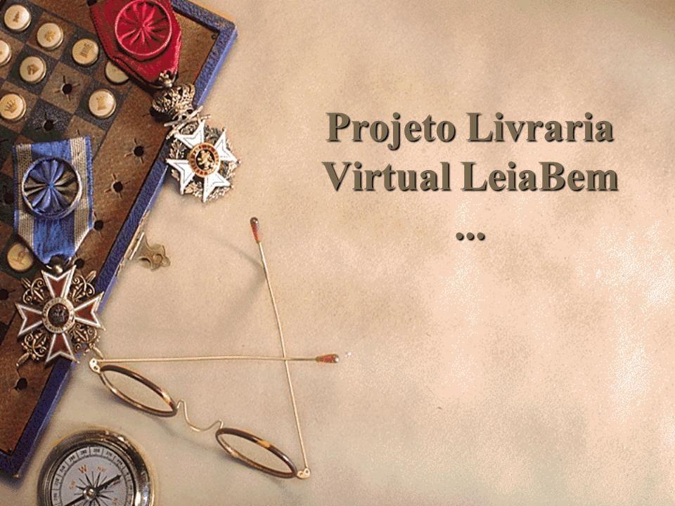 Projeto Livraria Virtual LeiaBem...