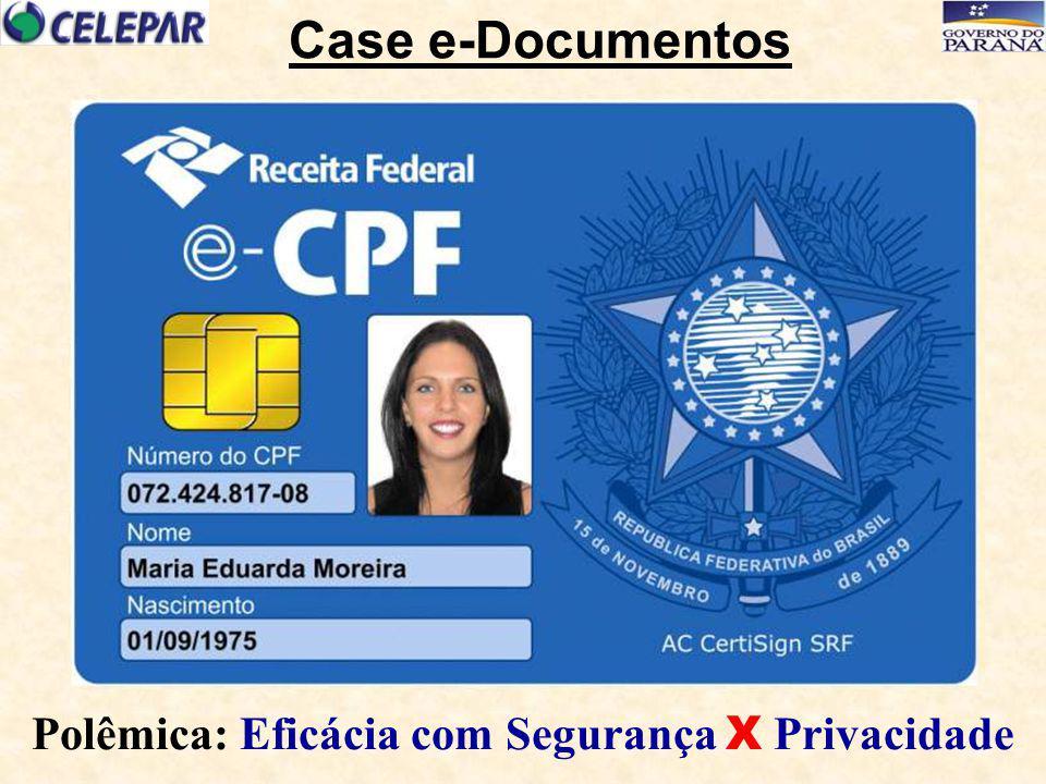 Case e-Documentos Polêmica: Eficácia com Segurança X Privacidade