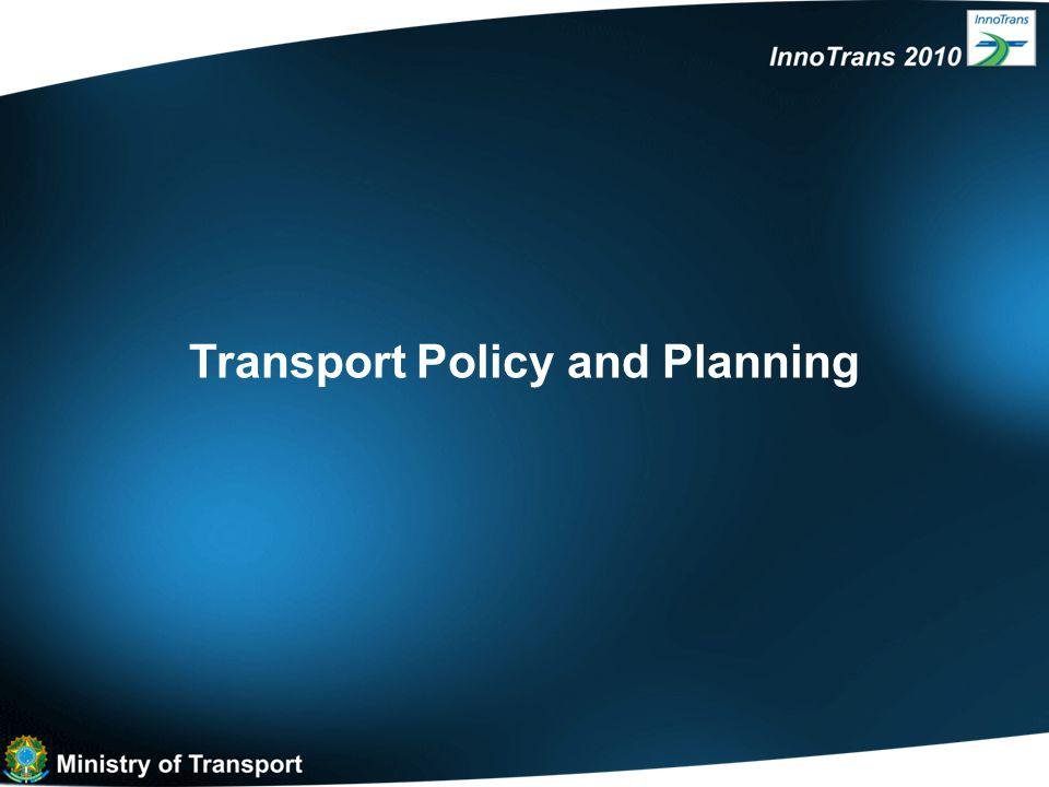 Transport Policy and Planning