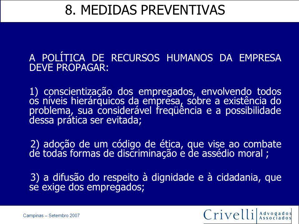 Campinas – Setembro 2007 8.