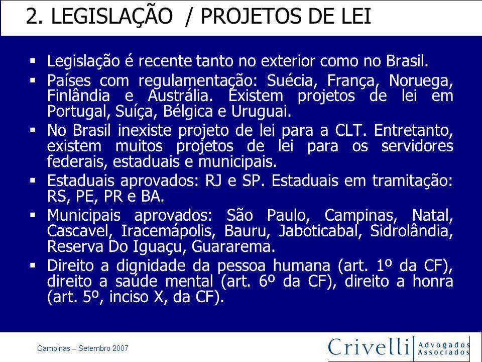 Campinas – Setembro 2007 2.