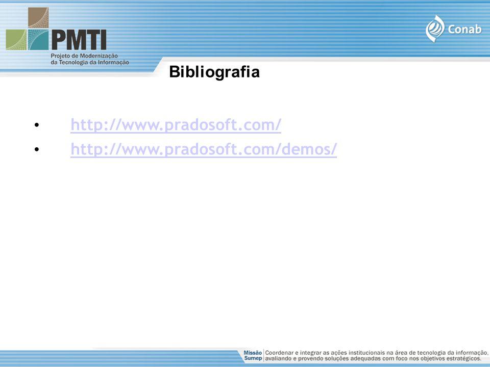 Bibliografia http://www.pradosoft.com/ http://www.pradosoft.com/demos/