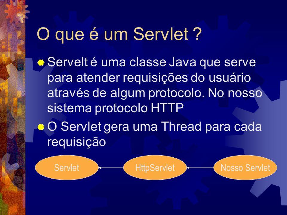 O que é um Servlet .