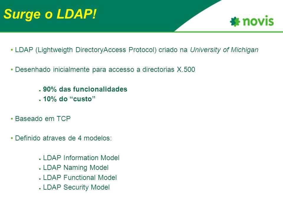 Surge o LDAP.