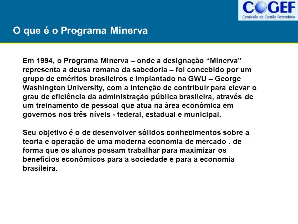 """O que é o Programa Minerva Em 1994, o Programa Minerva – onde a designação """"Minerva"""" representa a deusa romana da sabedoria – foi concebido por um gru"""