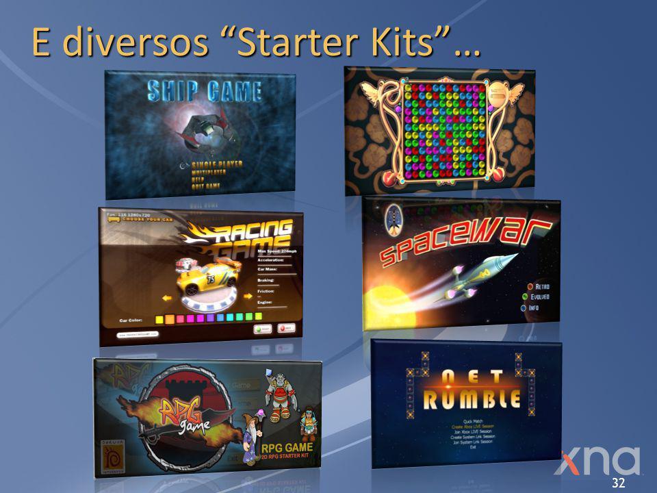 """32 E diversos """"Starter Kits""""…"""