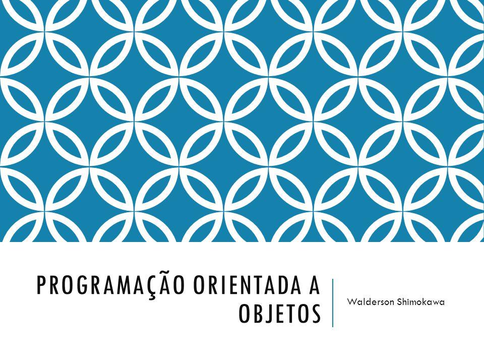 INTRODUÇÃO PROGRAMAÇÃO ORIENTADA A OBJETOS282