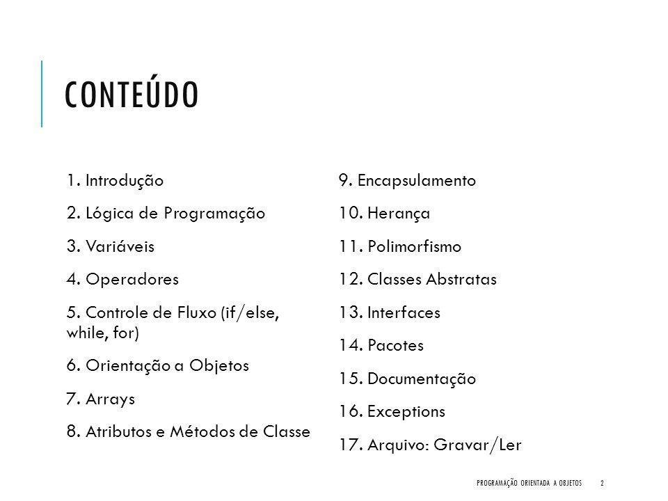 7. HERANÇA PROGRAMAÇÃO ORIENTADA A OBJETOS183