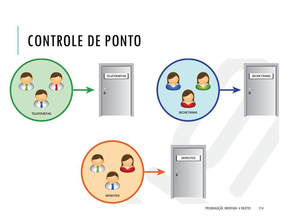 CONTROLE DE PONTO PROGRAMAÇÃO ORIENTADA A OBJETOS214