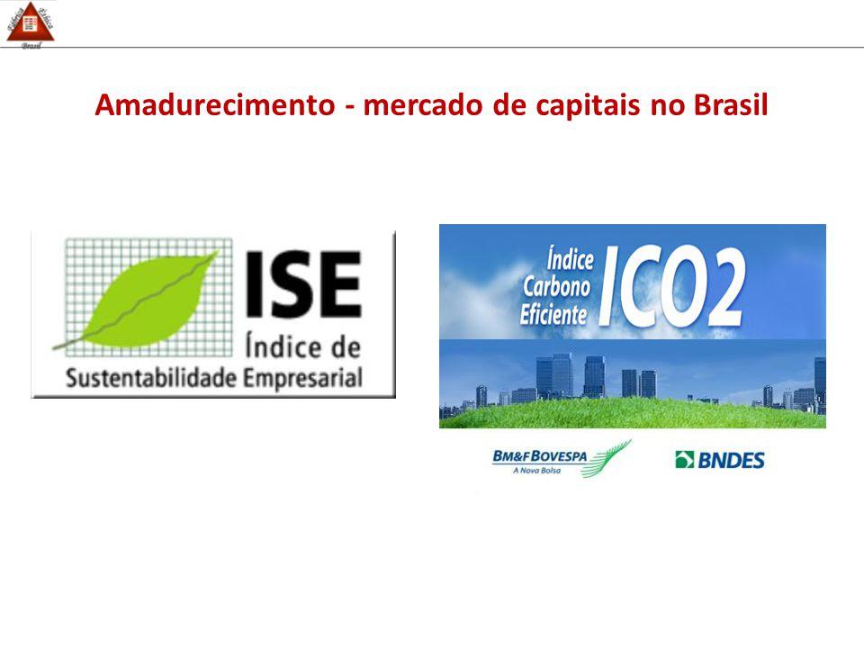 Amadurecimento - mercado de capitais no Brasil