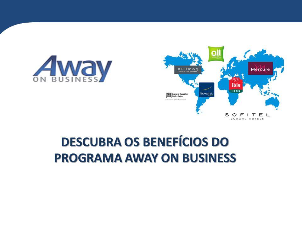 O programa Away On Business da Accor Hospitality oferece grandes benefícios a nível mundial para hospedagens corporativas de sua empresa.