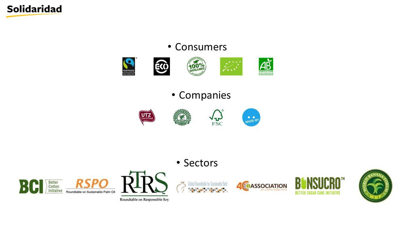 Consumers Companies Sectors