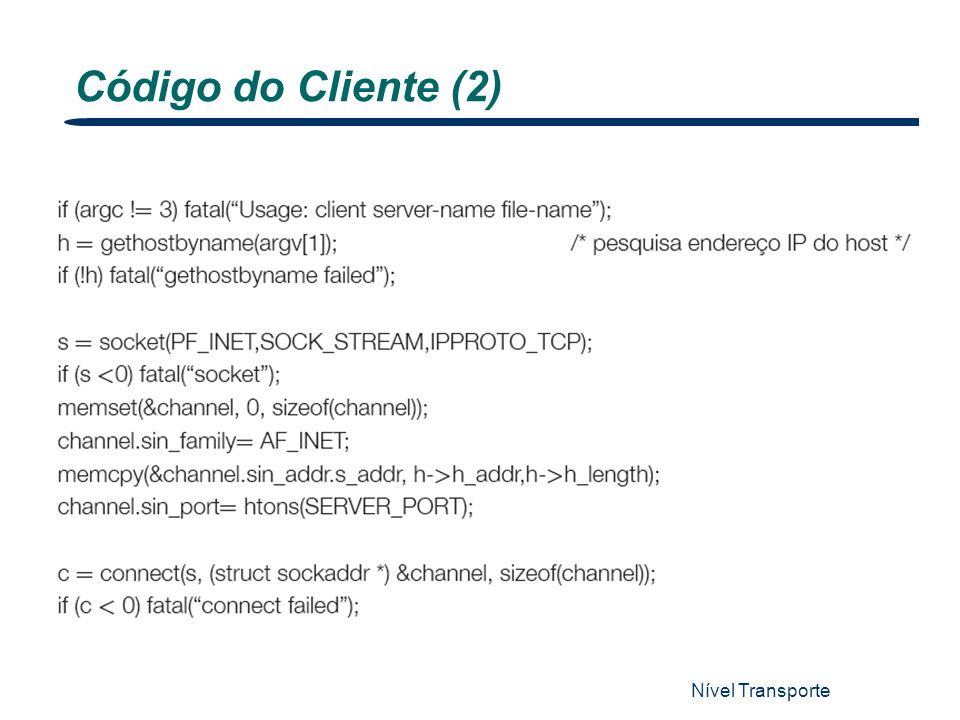 Nível Transporte 15 Código do Cliente (2)