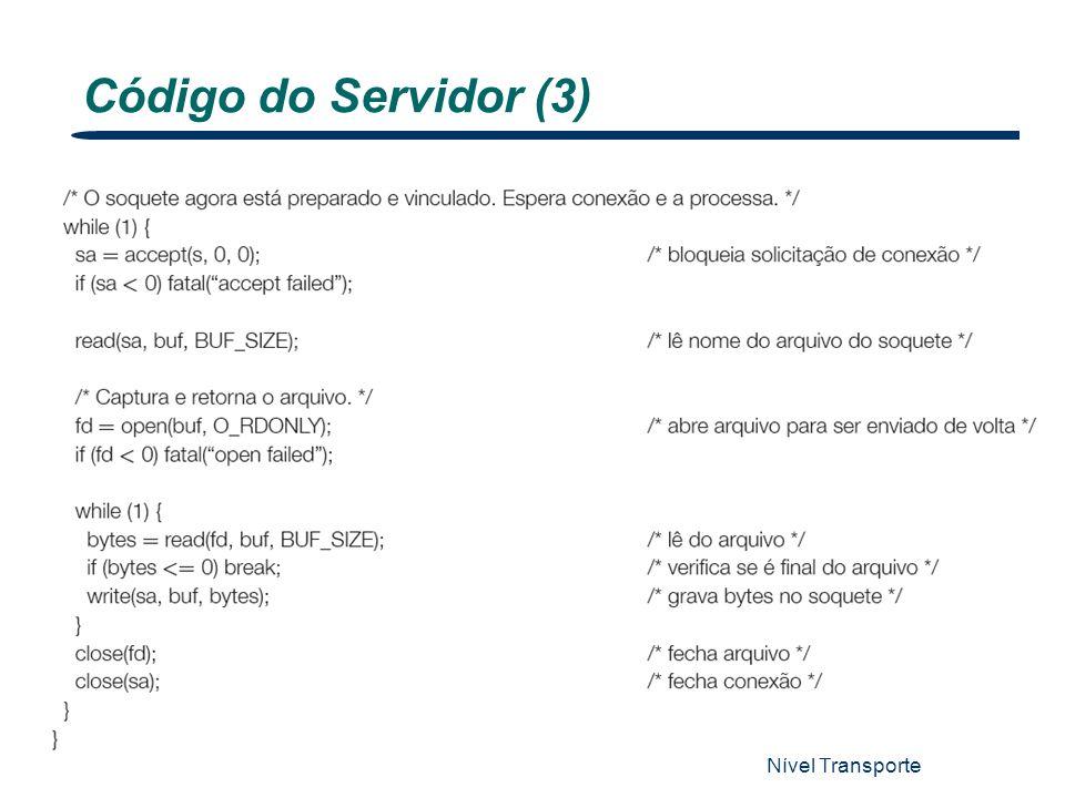 Nível Transporte 19 Código do Servidor (3)