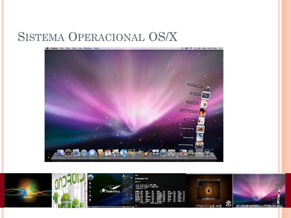 S ISTEMA O PERACIONAL OS/X