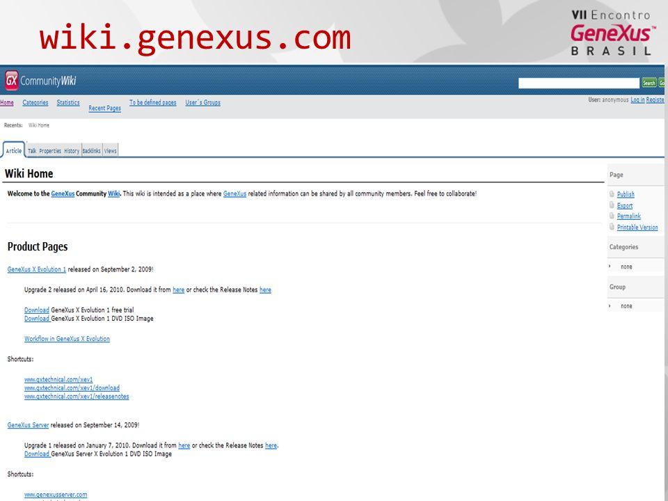 wiki.genexus.com