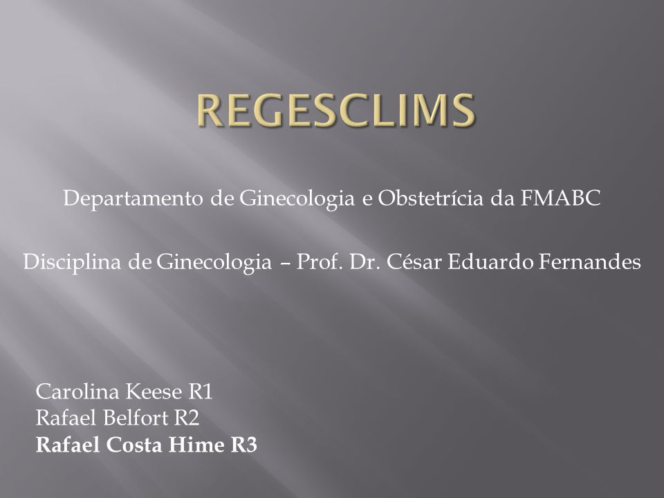 Rafael Hime - R3 Orientadora: Prof.Dra. Lúcia Helena de Azevedo Titular : Prof.