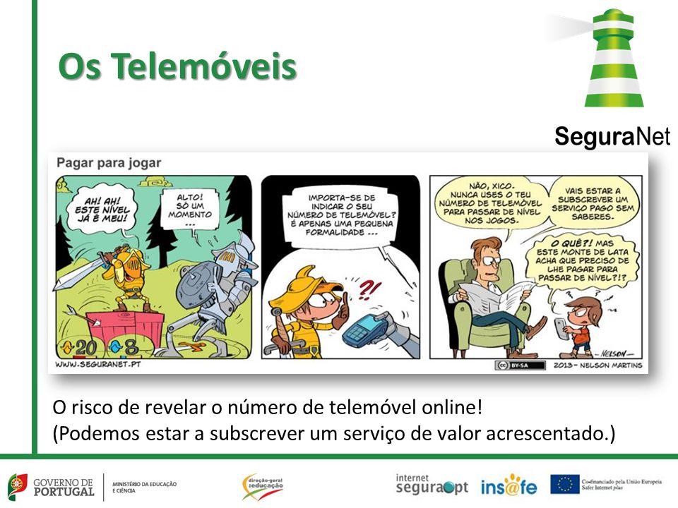 O risco de revelar o número de telemóvel online! (Podemos estar a subscrever um serviço de valor acrescentado.) Os Telemóveis