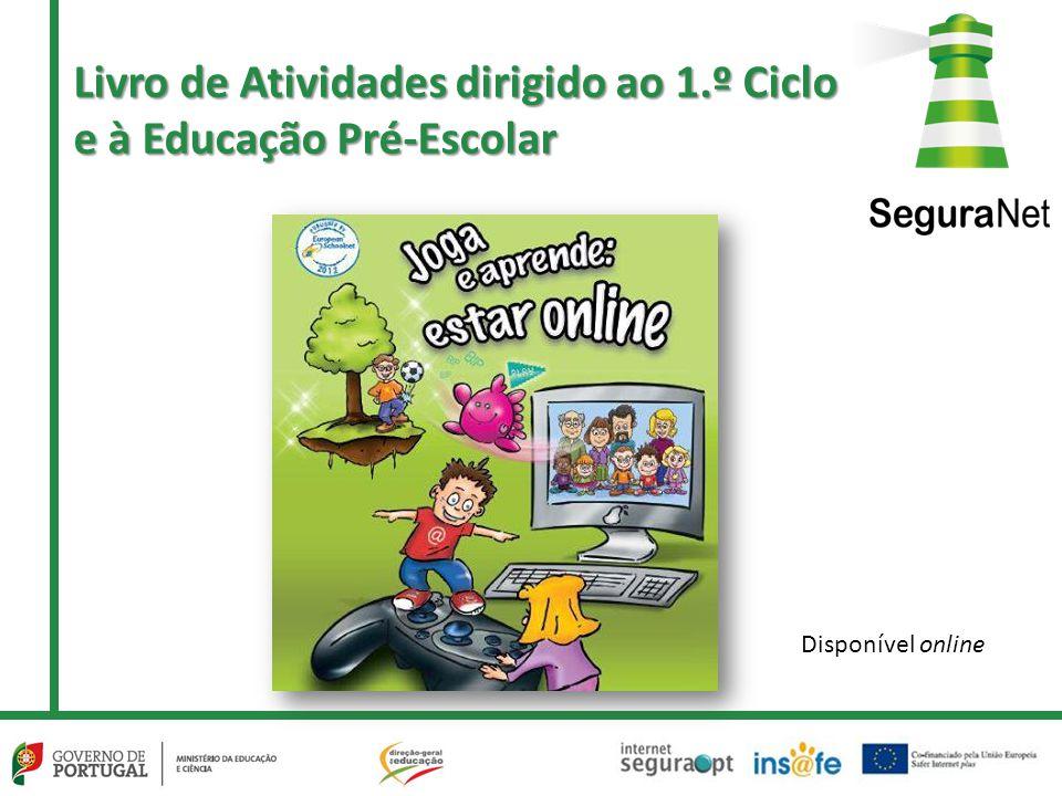 Livro de Atividades dirigido ao 1.º Ciclo e à Educação Pré-Escolar Disponível online