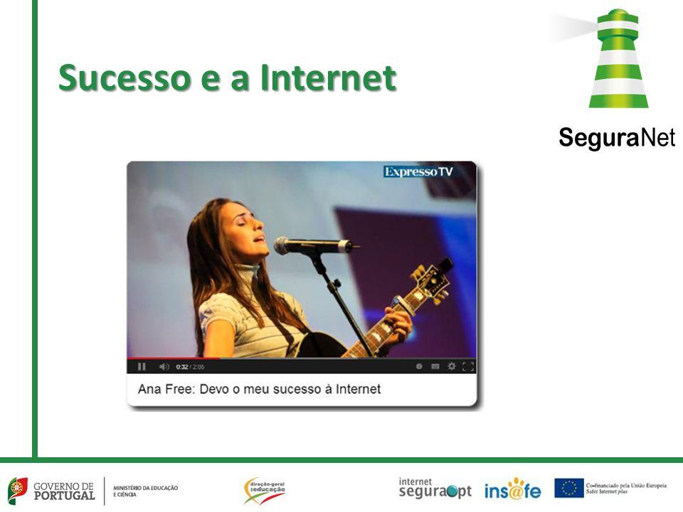 Sucesso e a Internet